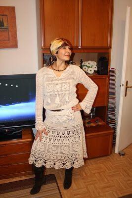 http://ideascaramelo.blogspot.com.br/2011/08/falda-en-crochet.html