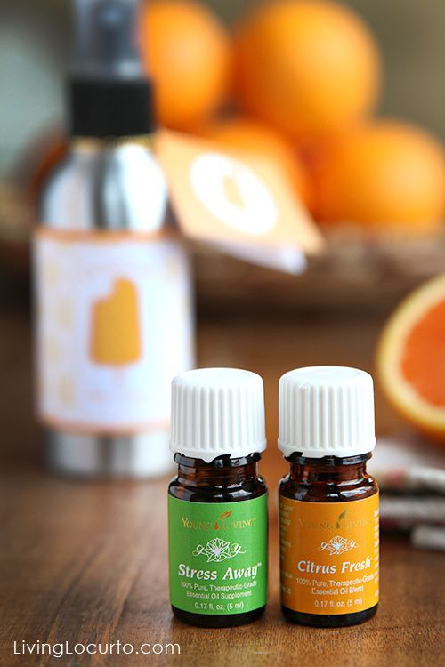 Orange Creamsicle Room Spray! An easy DIY Gift Idea with Young Living ...