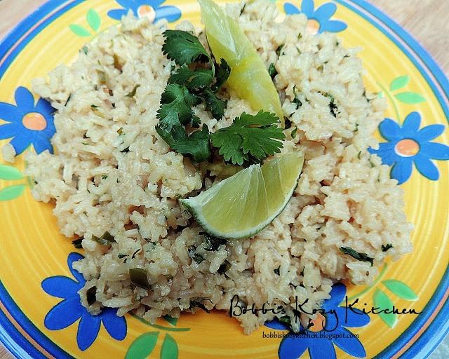 Cilantro Serrano Mexican Rice Recipe — Dishmaps