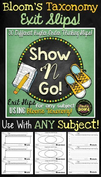 This set of 30 exit slips helps facilitate higher order thinking and thoughtful written response after students have reflected on a lesson or topic. Using these slips will help you collect formative assessments on your students throughout the school year