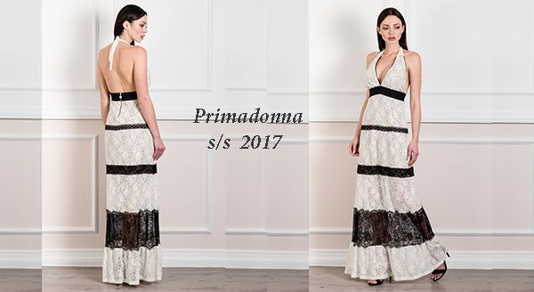 Γυναικεία μόδα by Primadonna : Maxi open back lace dress