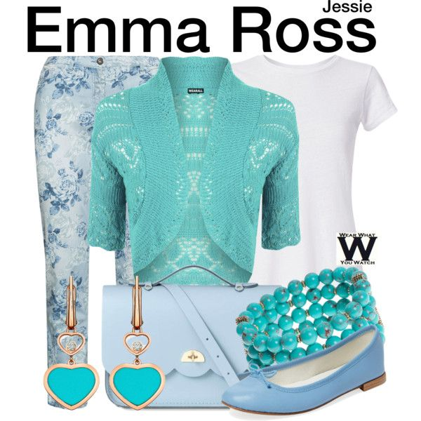 Inspired by Peyton List as Emma Ross on Jessie