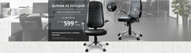 Fabrica de Cadeiras para Escritório Curitiba - Classe A Flex http://www.classeaflex.com.br