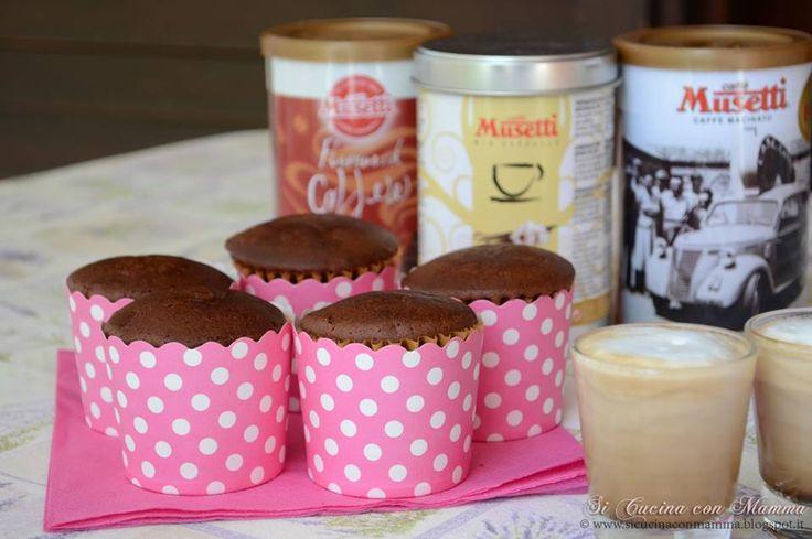 Muffin al caffè Musetti aromatizzato alla vaniglia