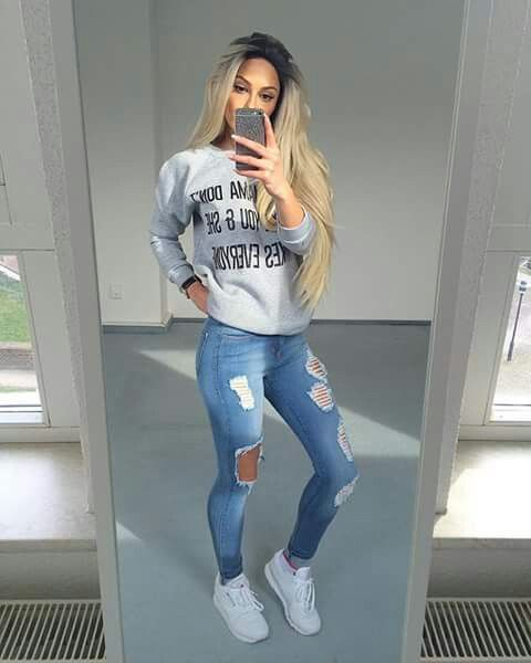 Cute Outfits Casual cozy cute fall outfit ideas that anyone can wear teen  girls or women. The ultimate fall fashion guide for high school or college.