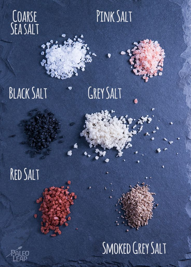 A Guide To Salts -   Great article on the different types of salts, and what they can be used for.