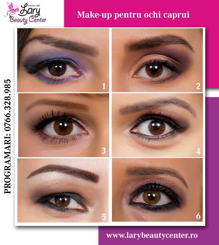 machiajul ochilor caprui http://www.larybeautycenter.ro/
