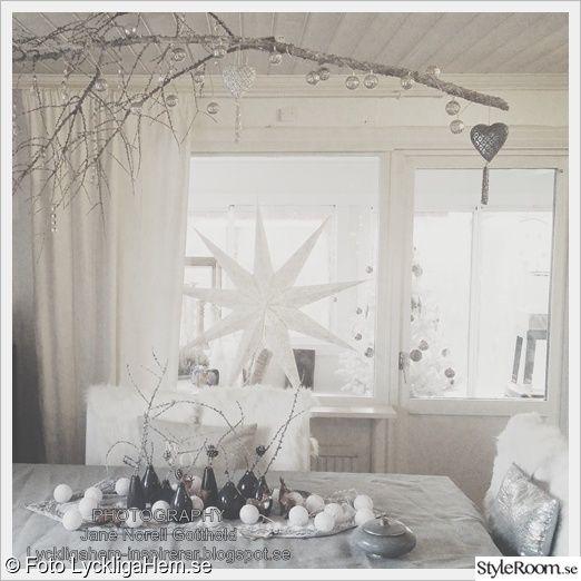 julstjärna,jul,vardagsrum,matplats,juldekoration