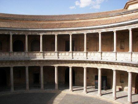 Palacio de Carlos V #Alhambra #granada