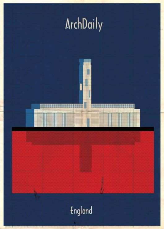 Federico Babina's Latest Archi-Illustrations show Classic National Architecture