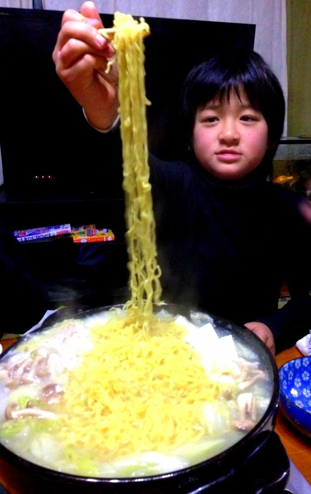 ラーメン鍋