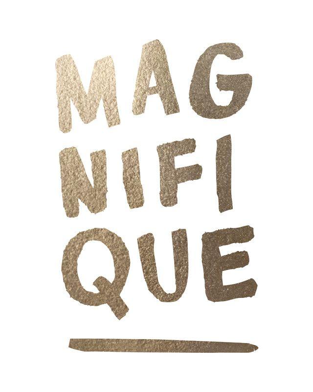 Magnifique by Marabou Design | Minted