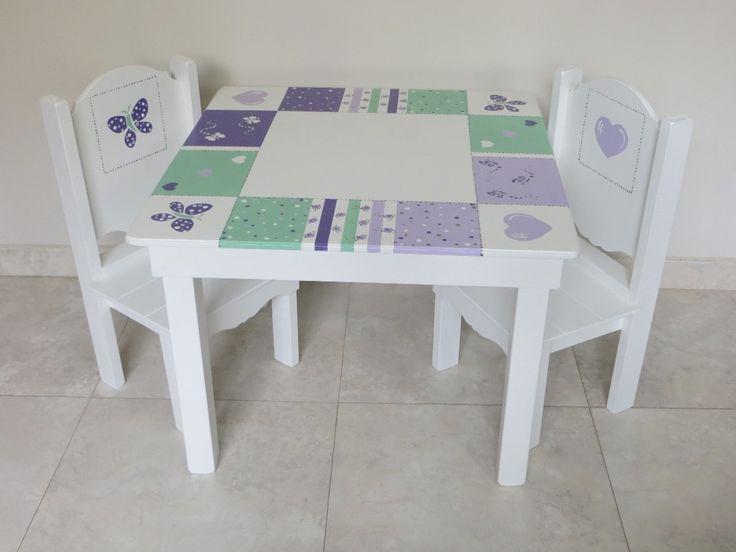 Resultado de imagen para mesas y sillas para nenas