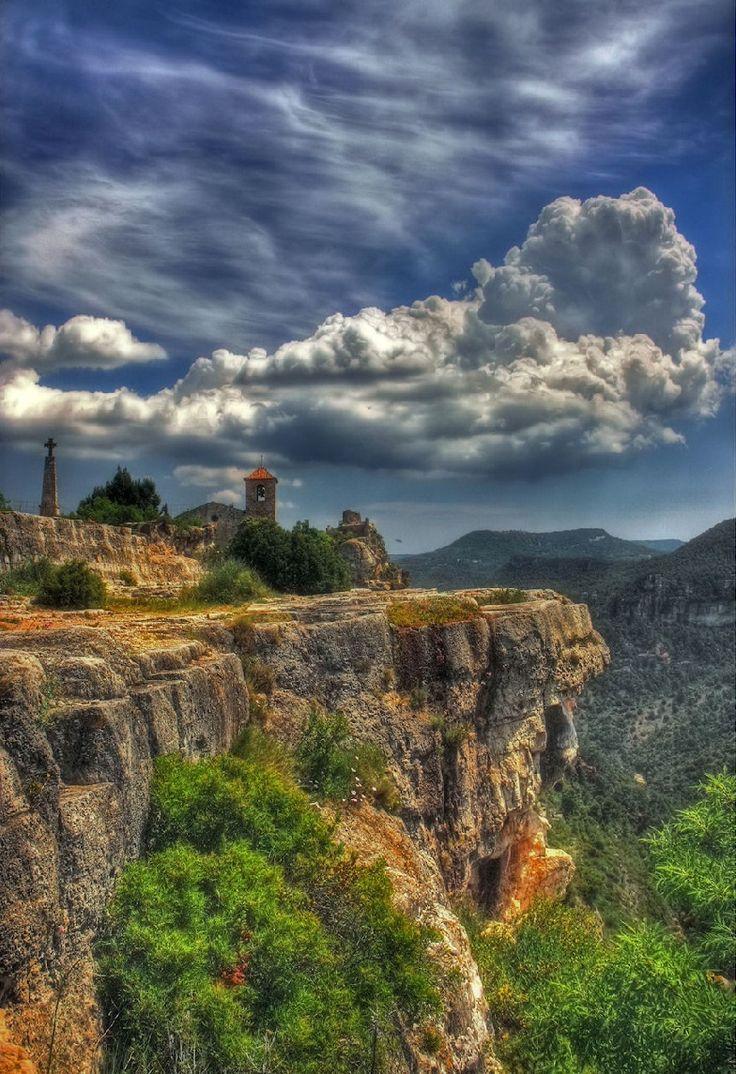 #Clouds Siurana, Tarragona Catalonia