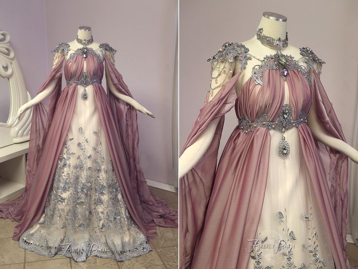 Rose Armor Gown by Lillyxandra