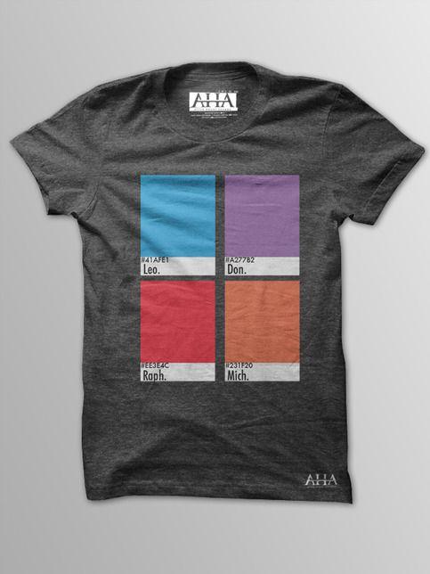 Turtle Power! - Men's Vintage Black Tri-Blend T-Shirt from After Hours Agenda