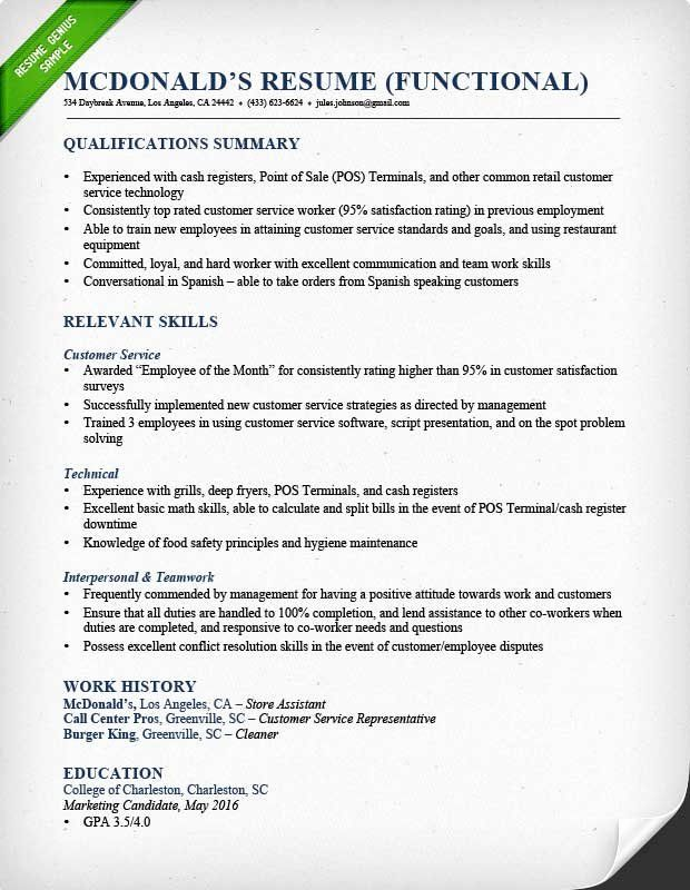 Examples Of Time Management Skills For Resume Unique How To Write A Qualifications Summary In 2020 Functional Resume Template Resume Skills Unique Resume Template