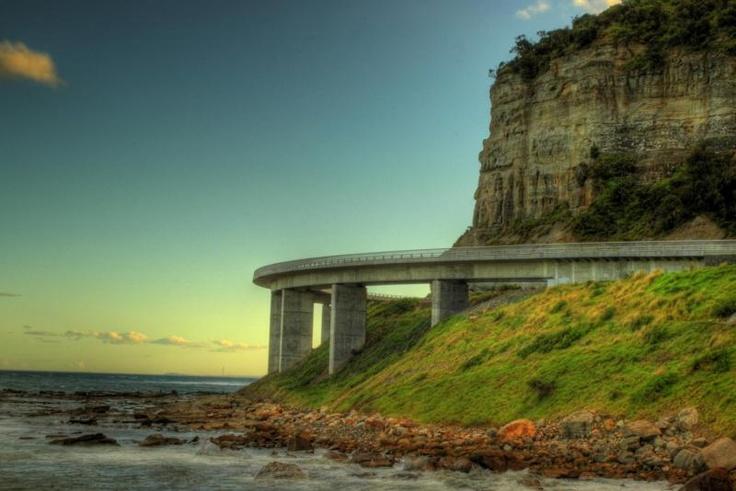 Sea Cliff Bridge - South coast paradise x