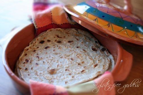 Gluten-Free Millet-Buckwheat Tortillas- I want, WANT to make these! I miss flour tortillas so much it makes me want to cry sometimes. But these look good enough to fill with beans, make into a burrito, and eat!
