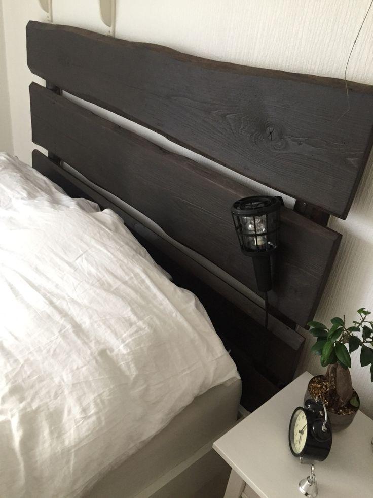 Hemmagjord sänggavel