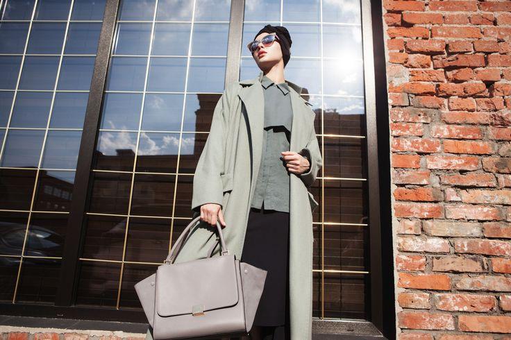 Пальто осеннее на подкладе в магазине «АММА» на Ламбада-маркете
