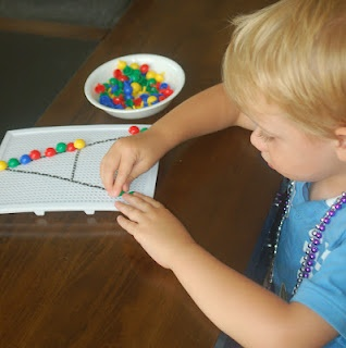 25 Ideas to Get Your Child Ready to Write - fine motor practice