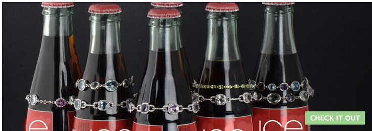 COKE BOTTLES AND ARM CANDY