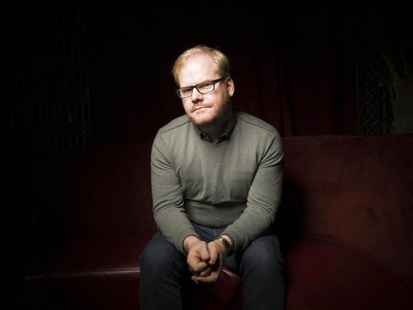 """Jim Gaffigan   """"Thank you bacon.         Sincerely,           Water Chestnut III"""""""