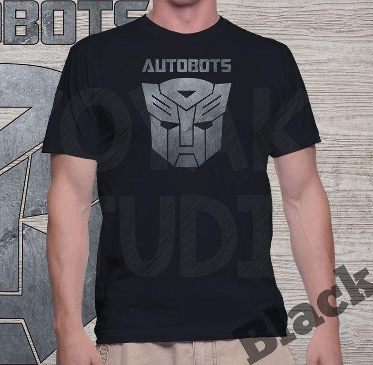 "Jual Kaos Movie Transformers ""Autobots"" (k. hitam) - Yoyaku Shop | Tokopedia"