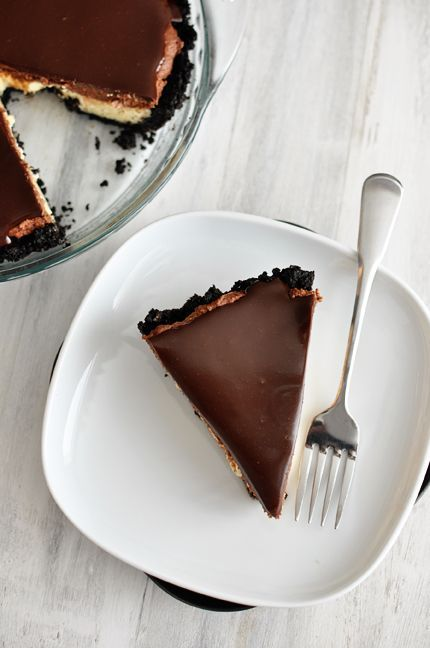 Mel's Kitchen Cafe | Chocolate Mousse Cheesecake Pie
