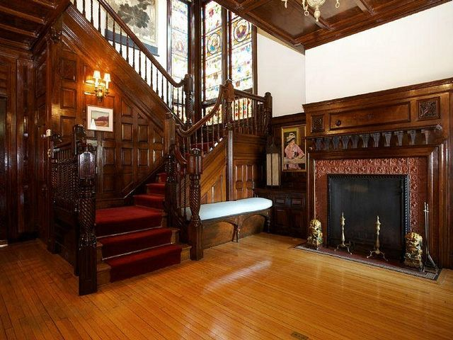 34 best images about queen anne style interior des on for Rooms in a victorian mansion