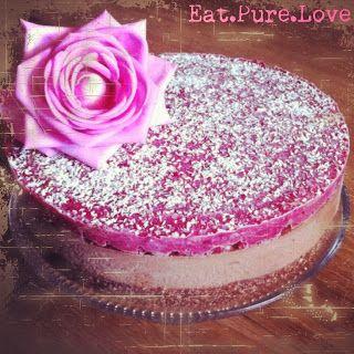 Double chocolate cheesecake - Go nuts! - glutenvrij, suikervrij, lactosevrij ~ Eat.Pure.Love.