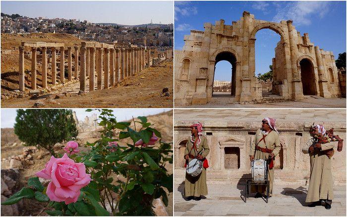 The Graeco-Roman ruins of Jerash, Jordan.