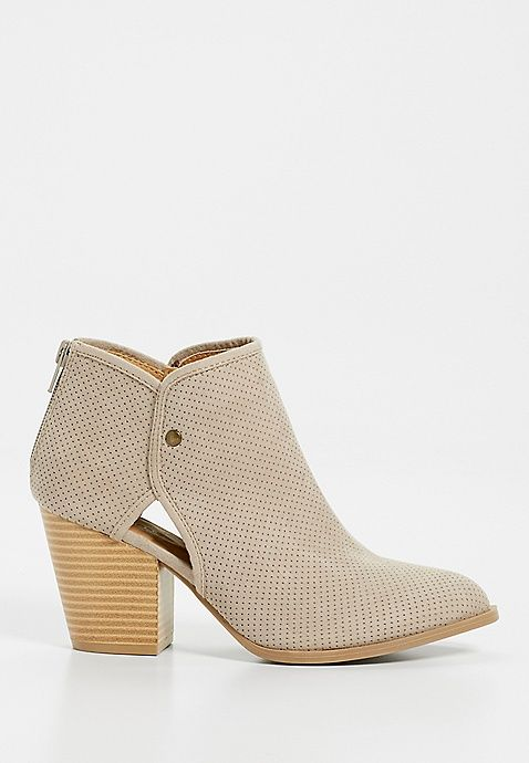 (I already own a pair of booties like this so I'm set!)