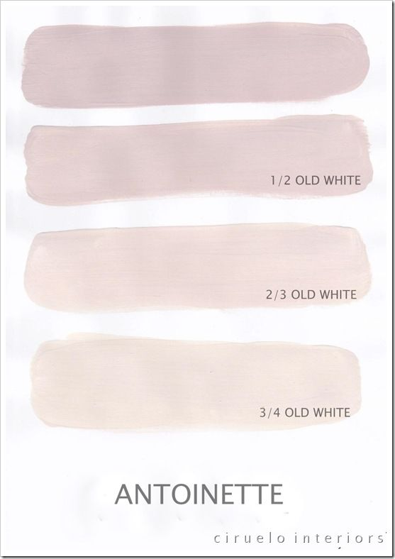 Chalk Paint® by Annie Sloan, Antoinette...mixed with Old White