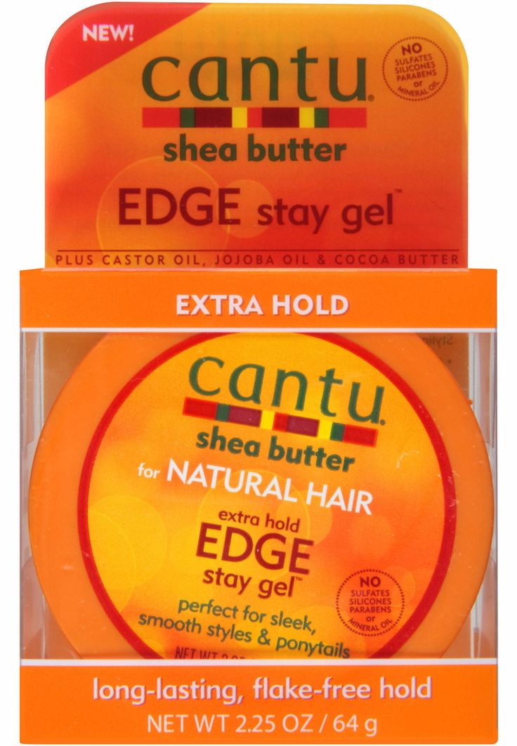 Cantu Shea Butter Edge Stay Gel Extra Hold (2.25 oz)