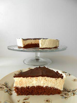 sugarfree dots: túró rudi torta cukormentesen
