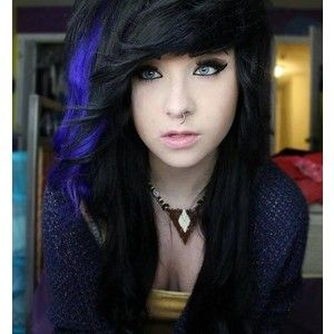 The 25 best blue hair streaks ideas on pinterest colored hair blue hair streaks medium length google search pmusecretfo Gallery
