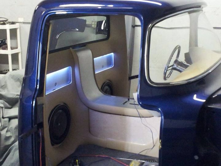 1956 ford f100 interior interior interiors and panels pinterest camioneta interiores y cosas. Black Bedroom Furniture Sets. Home Design Ideas