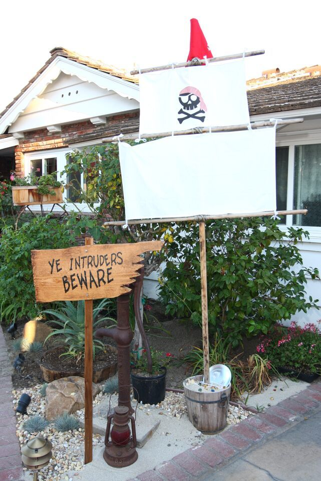 Goonies theme party. My cousin Dave made these incredible signs which he sales on Etsy. Photos by Scott Hicken