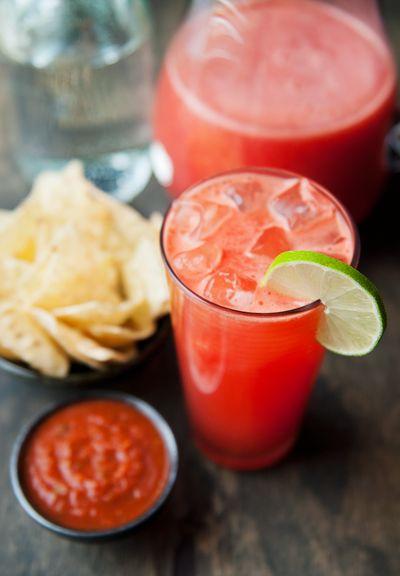 sparkling watermelon agua fresca recipe | use real butter