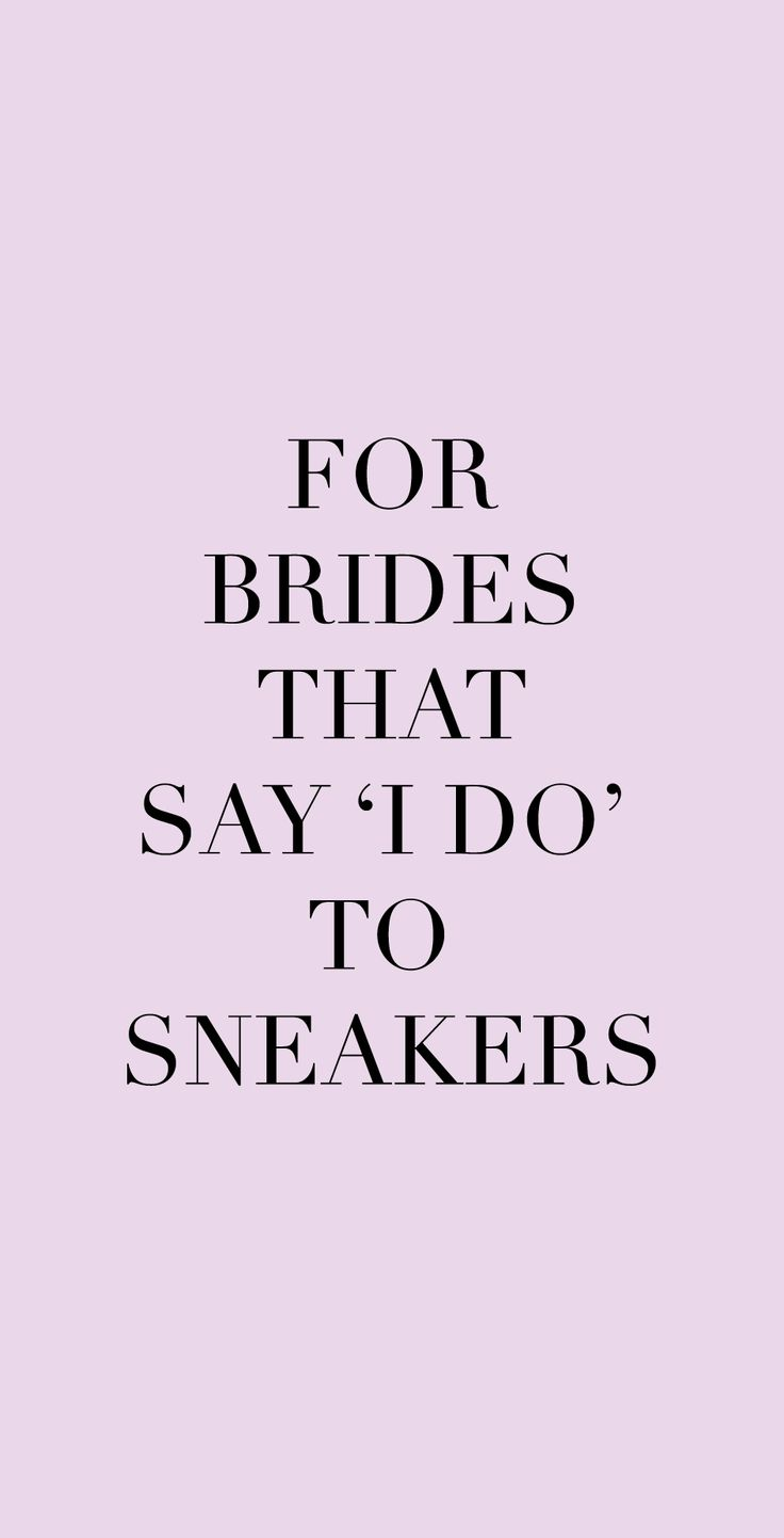 For brides that say I do to sneakers 👰 For brides that want to feel comfortable on their wedding day! Meet Josefinas' kicks at www.josefinas.com/brides.  #bride #brides #wedding #weddings #gown #shoes #flat #shoes