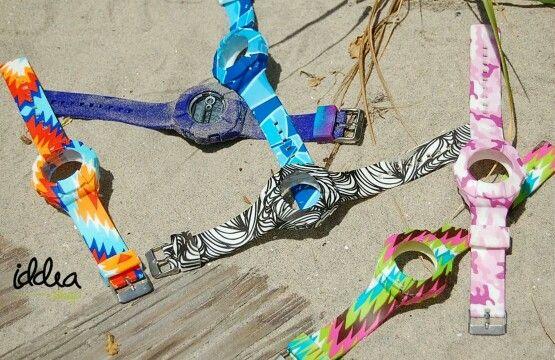 Estas Fiestas Patrias, personaliza tu outfit de playa con estos relojes únicos ¿Con qué modelo te identificas?