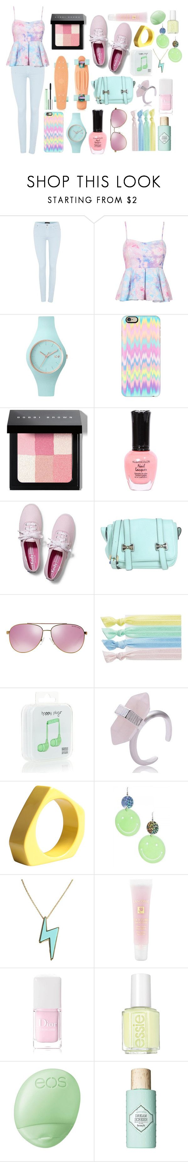 """pastel boardwalk outfit