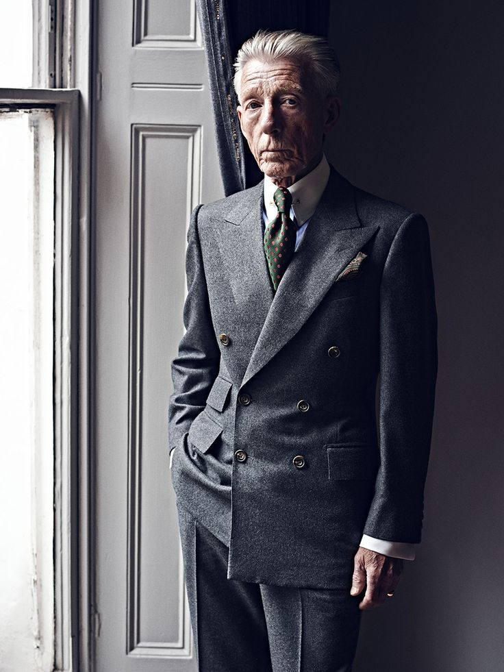 Edward Sexton - Savile Row / Revers / Epaules / Cravate / Couleurs