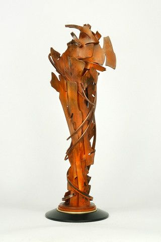the modern archive - Coalescence Sculpture by Albert Paley