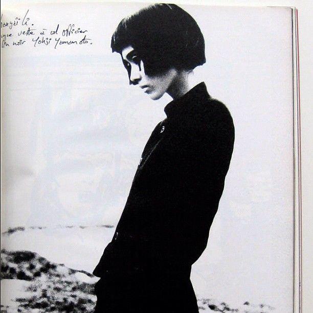 yohji Yamamoto, ca. 1983http://instagr.am/p/VUiC5xiGNl/