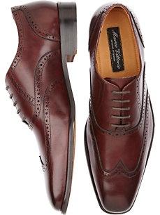 Marco Vittorio Burgundy Wingtip Shoes