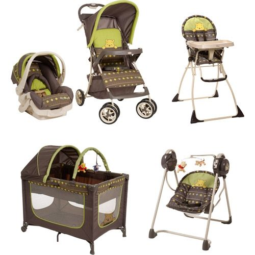 Pooh Bear Stroller With Car Seat