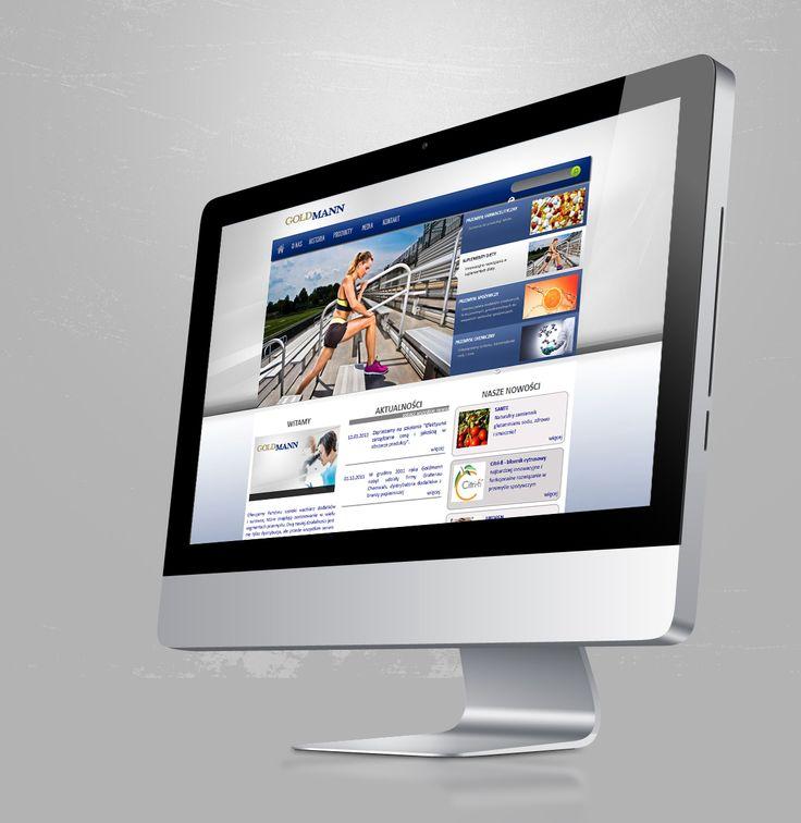 Goldmann Company Web Page final design